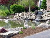 Dekoratyviniai baseinai su kaskada