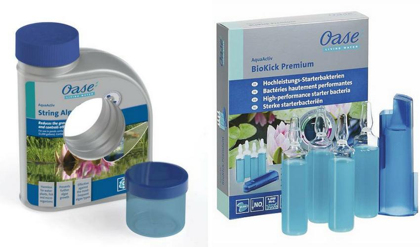 Biologinės vandens priežiūros priemonės