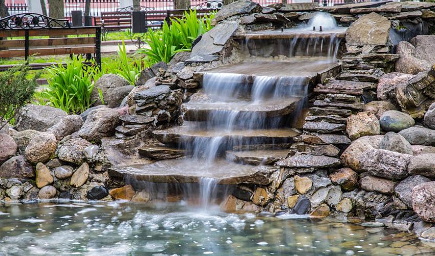 Tvenkinio kriokliai ir upeliai
