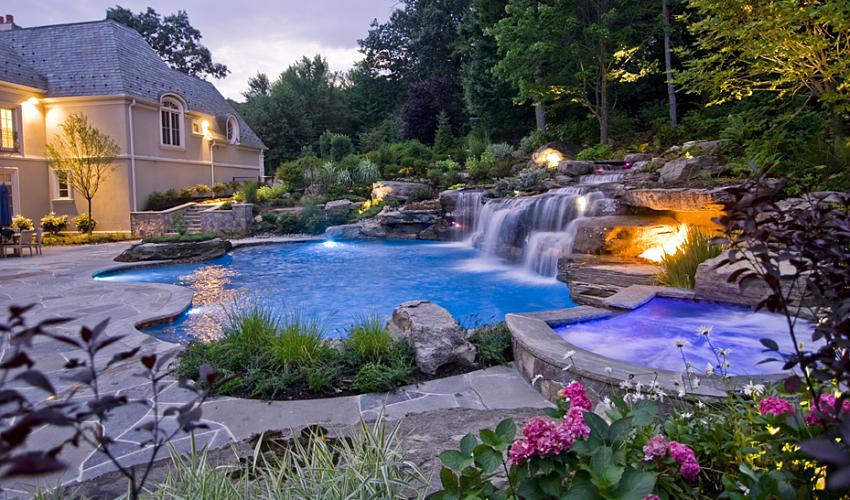 Dekoratyvinių baseinų savybės ir ypatumai