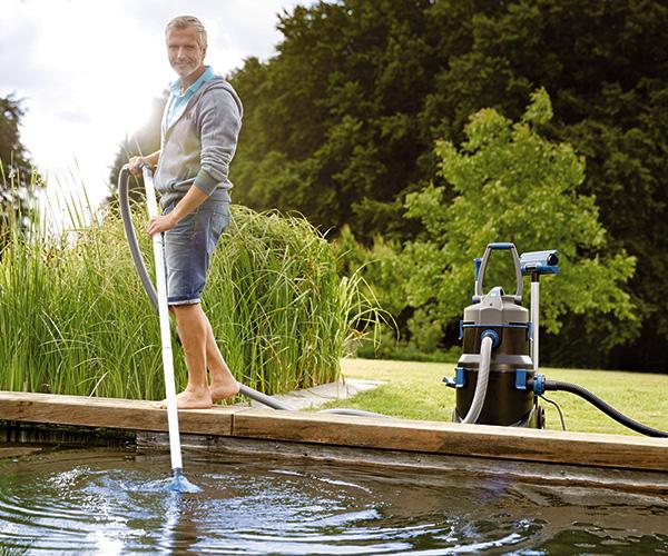 Dekoratyvinių tvenkinių ir baseinų priežiūra