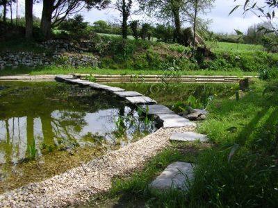 Dekoratyvinis eko baseinas su hidroizoliacija